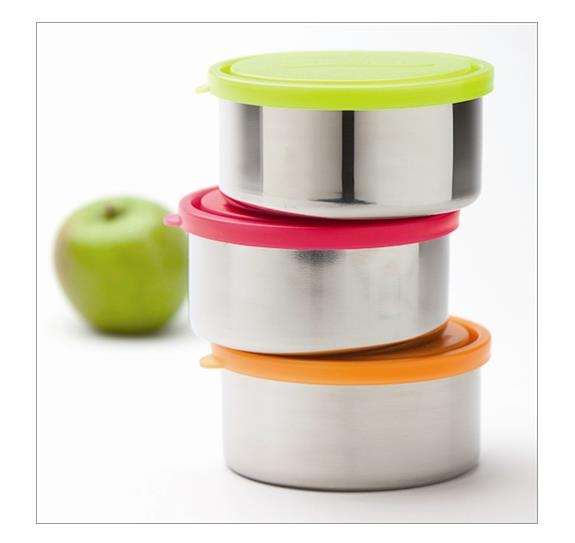 U Konserve Large round sstainless steel container-all colours