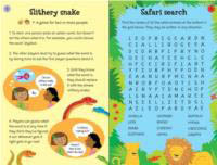 Usborne - 100 Things To Do On A Journey Book