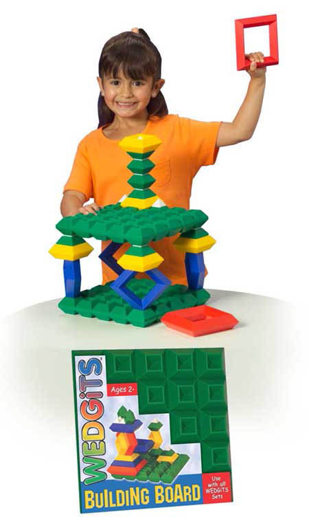 WEDGiTS- Construction Toys-Building Board