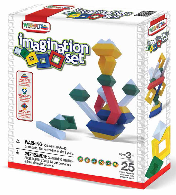 WEDGiTS-Construction Toys-Imagination Set 25