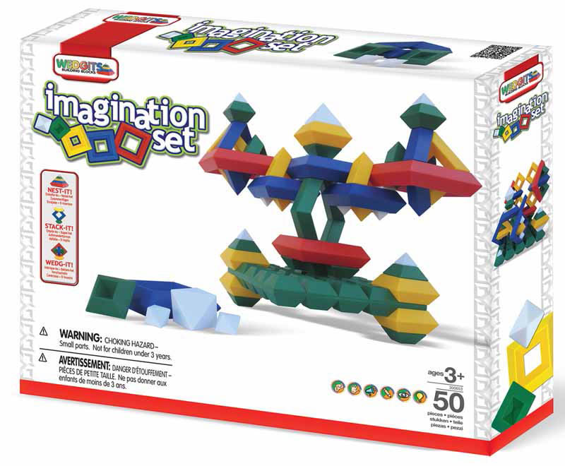 Wedgits-Construction Toys-Imagination Set 50