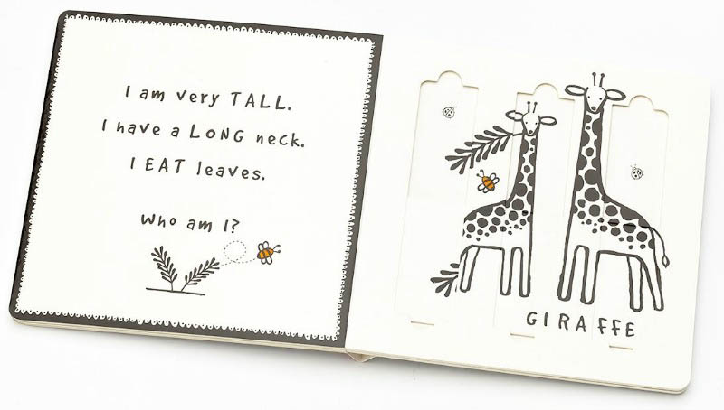 Wee Gallery Board Book - Slide and Play - Safari