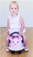 Wheely Bug-Kids Ride on Toys- Pig