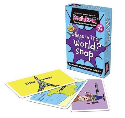 Where In The World? Snap Cards