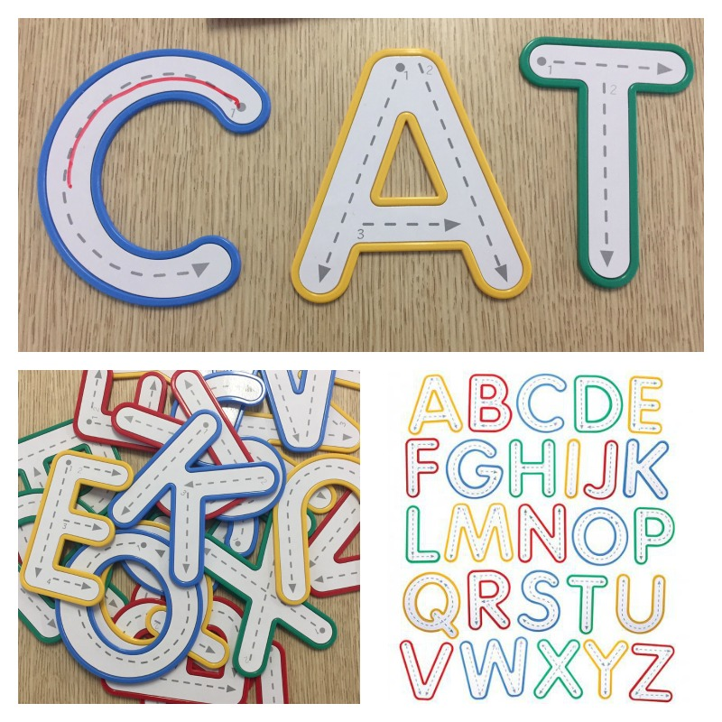Write and Wipe Uppercase Letters