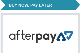 Afterpay. Buy now, Pay later.