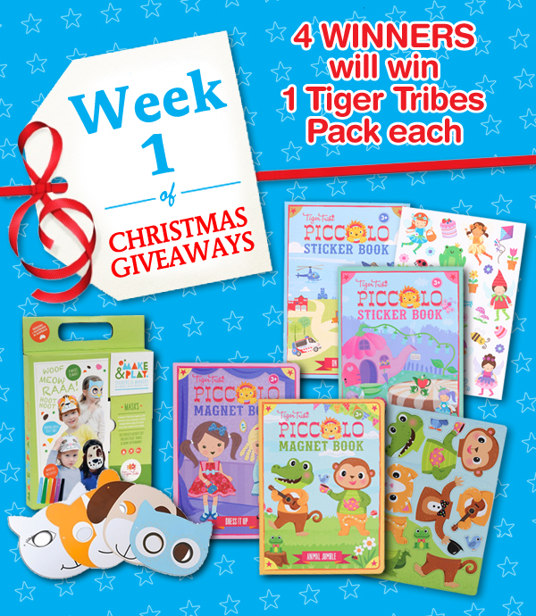 week 1 christmas giveaway pack