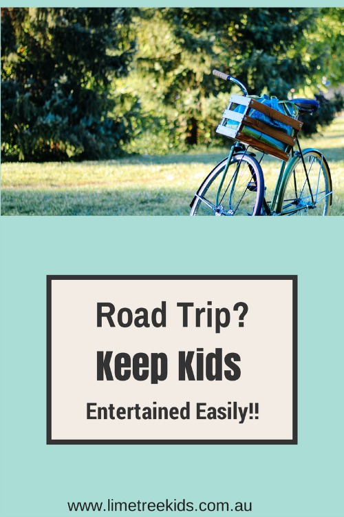how to keep kids entertained on road trips