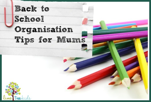 organising tips for mums
