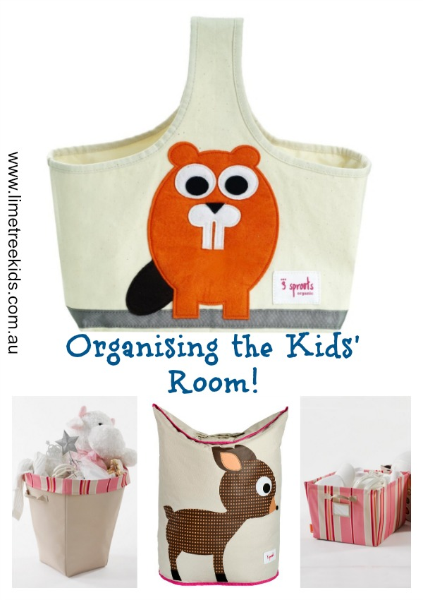organise the kids room