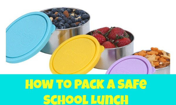 pack a safe school lunch