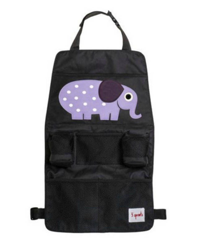 3 Sprouts - Backseat Organiser - Elephant
