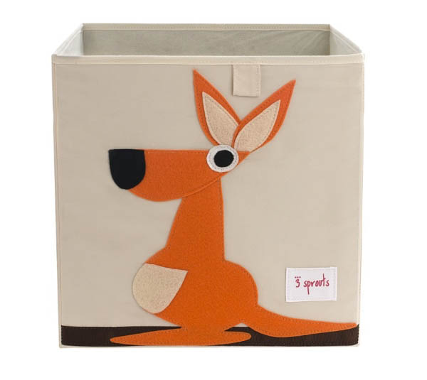 3 Sprouts Kids Toy / Storage Box {Kangaroo}