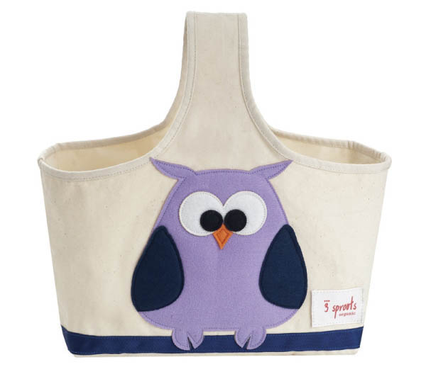 Storage Caddy - Purple Owl