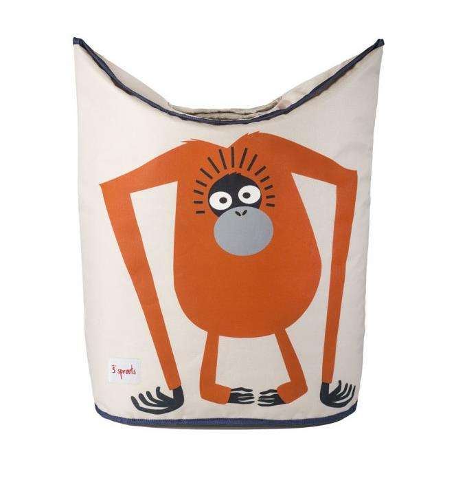 3 Sprouts-Storage Solutions- Laundry Hamper {Orangutan}