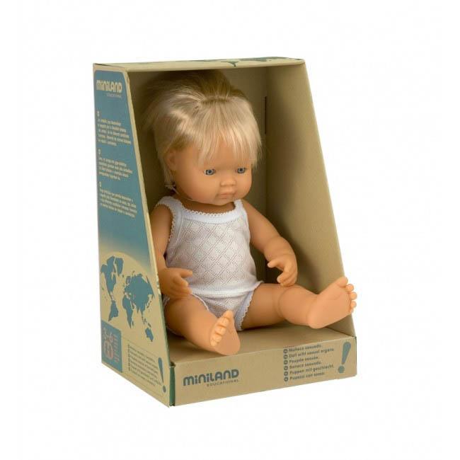 Miniland European Baby Boy Doll