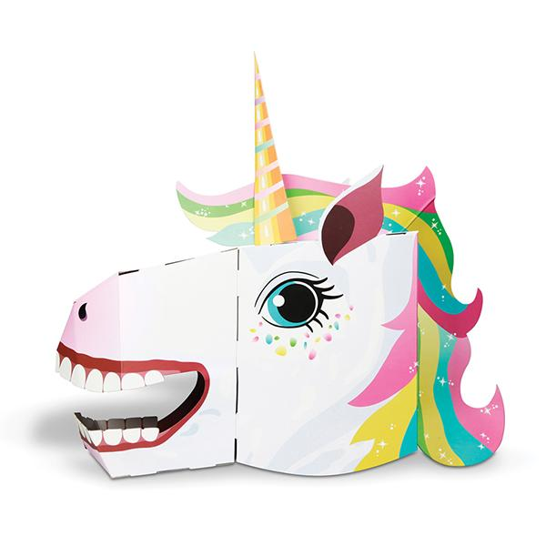 3D Mask Unicorn