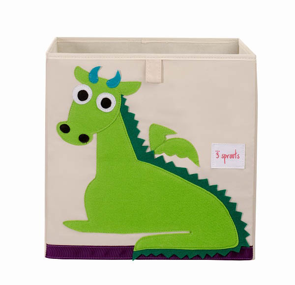 3 Sprouts- Kids Toy Boxes- Storage Box {Dragon}