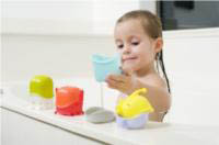 Creatures Bath Toy Cup Set