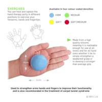 66fit Hand Therapy Exercise Putty