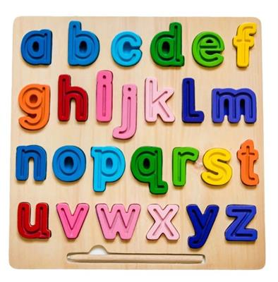 ABC Chunky and Tracing Puzzle Lowercase