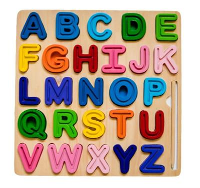 ABC Chunky and Tracing Puzzle Uppercase