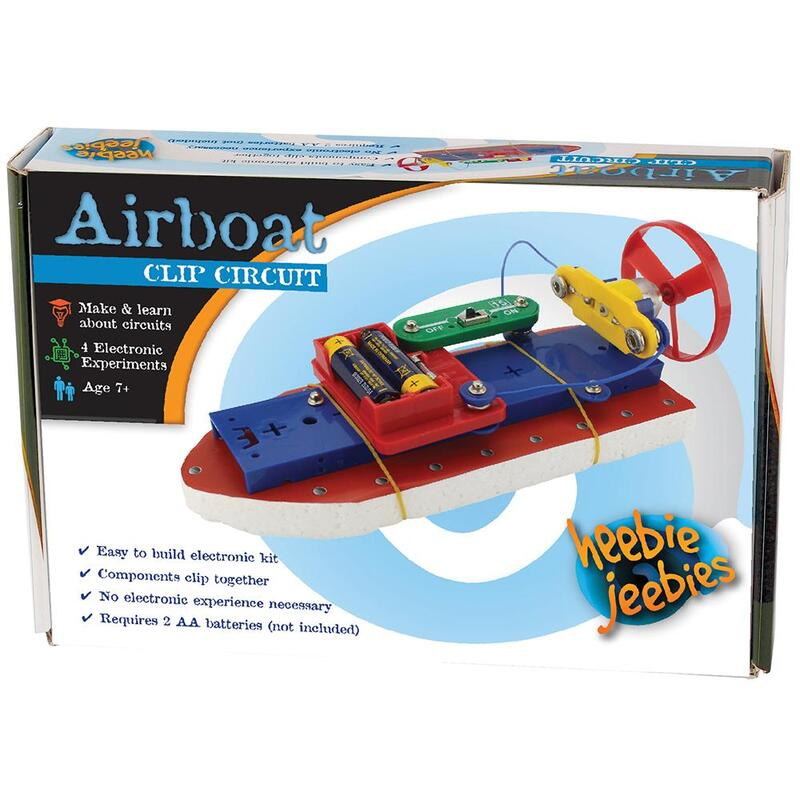 Clip Circuit Boat - Electronics Kit