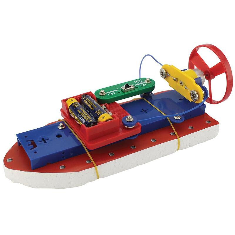 Clip Circuit Airboat | Kids Clip Circuit