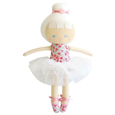 Alimrose Baby Ballerina Doll Sweet Floral