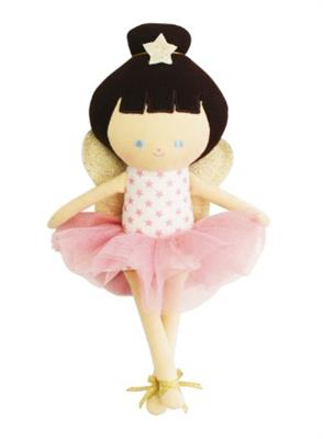 Alimrose Baby Fairy Doll Pink Stars