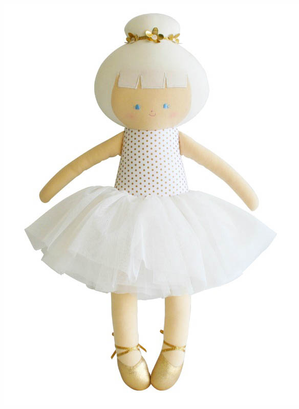 Alimrose - Big Ballerina Doll - Gold Spot