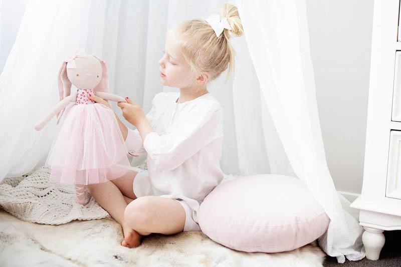 Alimrose Billie Ballet Bunny Sweet Floral