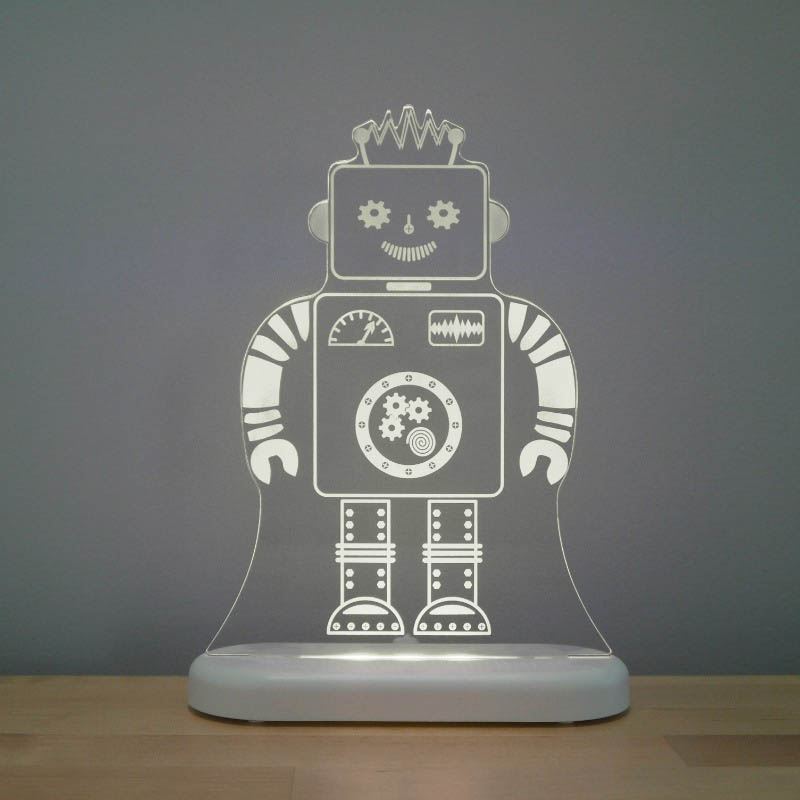 Aloka - LED Night Light - Robot