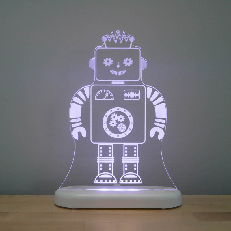 Aloka - LED Night Light - Robot - DUAL POWERED