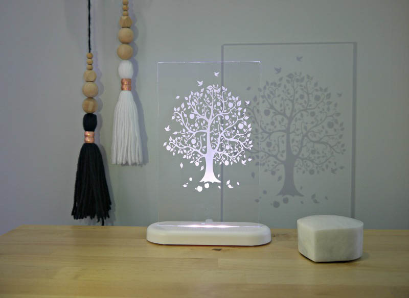 Aloka  -LED Sleepy Light - Tree