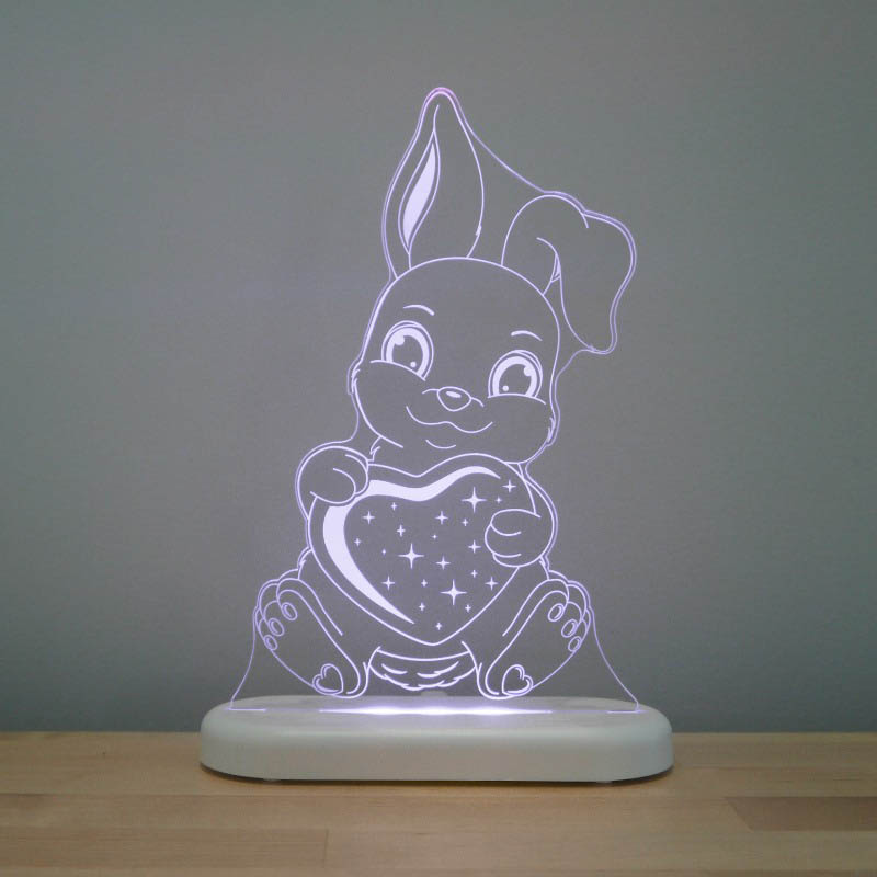 Aloka -  LED Sleepy Light - Bunny - DUAL POWERED