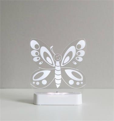 Aloka LED Sleepy Light Butterfly
