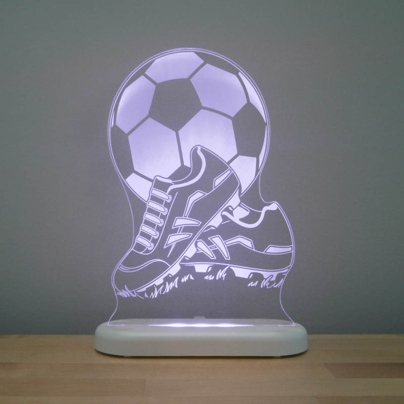 Aloka - LED Sleepy Light - Football&Boots - DUAL POWERED