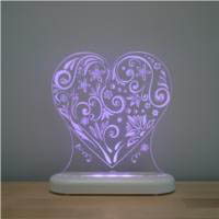 Aloka -  LED Sleepy Light - Loveheart