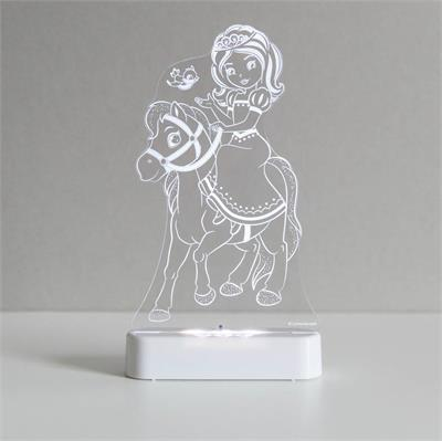 Aloka LED Sleepy Light Princess and Pony