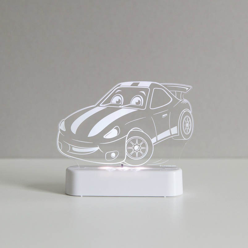 Aloka LED Sleepy Light Race Car