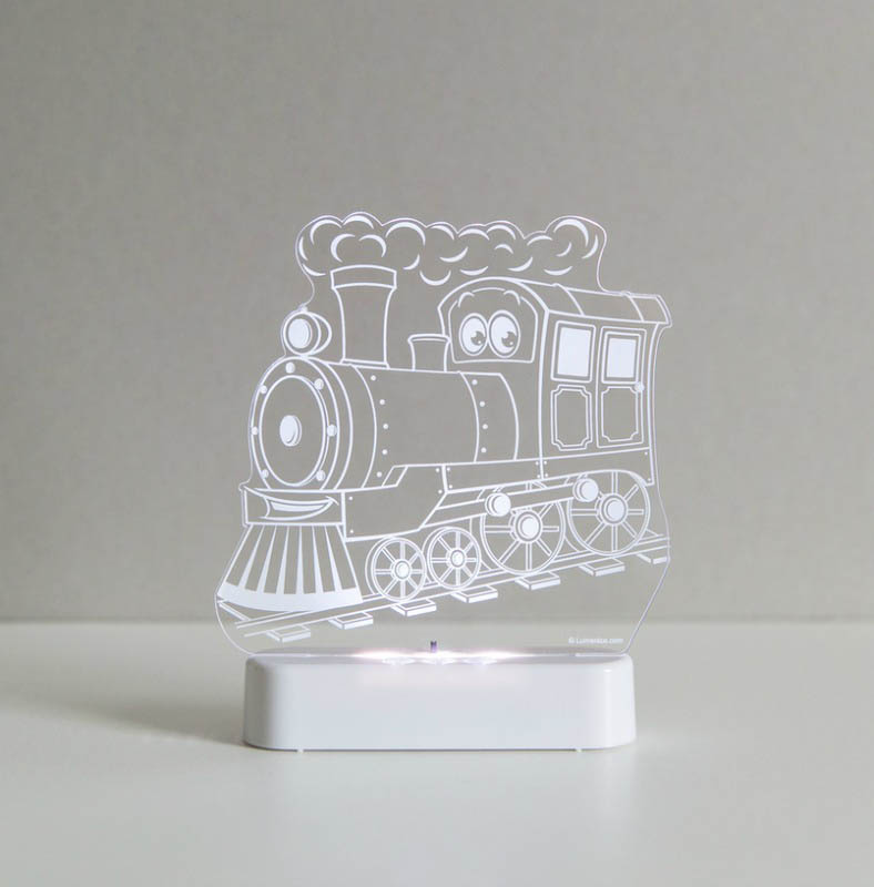 Aloka - LED Sleepy Light - Train - DUAL POWERED