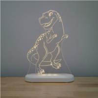 Aloka -  LED Sleepy Light - TRex - DUAL POWERED