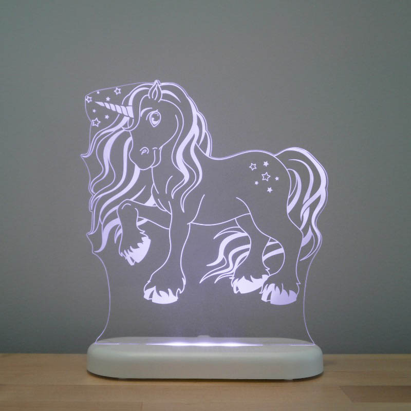 Aloka - LED Sleepy Light - Unicorn - DUAL POWERED