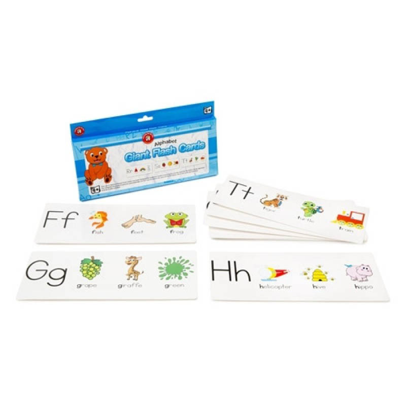 Alphabet Giant Flash Cards