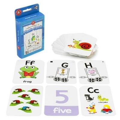 Alphabet & Numbers 1-10 Flash Cards