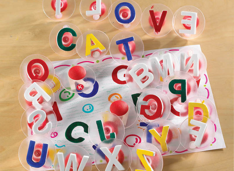 Alphabet Paint Stampers Uppercase - pack of 26