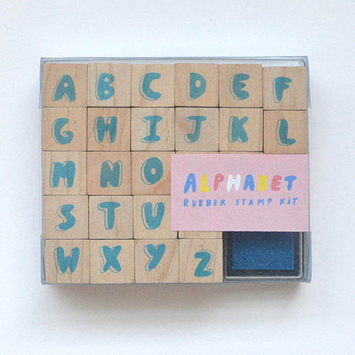 Yellow Owl Workshop - Alphabet Rubber Stamp Kit