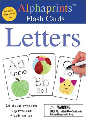 Alphaprints Letters Flash Cards
