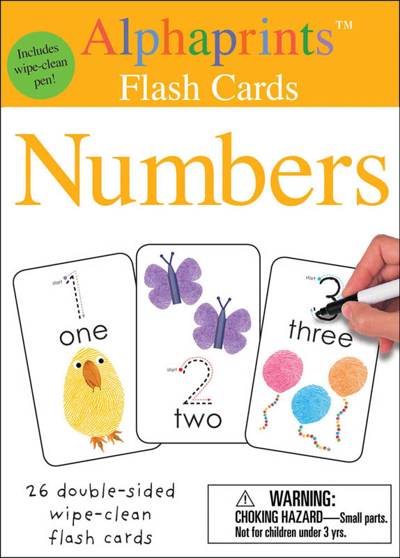 Alphaprints Numbers Flash Cards